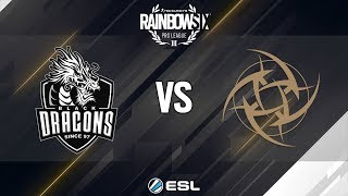 Rainbow Six Pro League - Season 9 - LATAM - Black Dragons vs. Ninjas in Pyjamas - Week 2