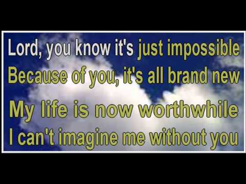 Jaci Velasques-Imagine Me Without You-(karaoke)