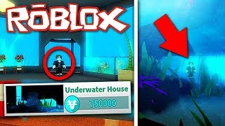 A 750,000 UNDERWATER HOUSING! (ROBLOX SUNSET CITY)
