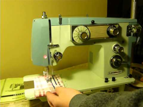 NIFTYTHRIFTYGIRL VINTAGE DRESSMAKER MODEL SAMB40 SEWING MACHINE Custom Omega 3000 Sewing Machine