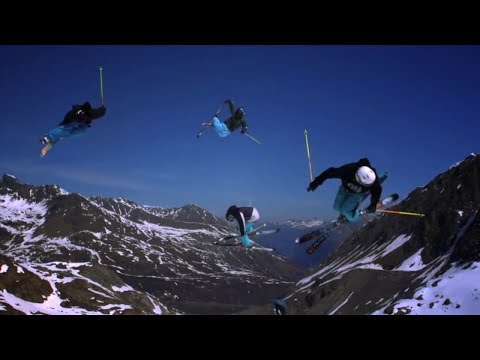 Extreme skiing compilation HD 2014