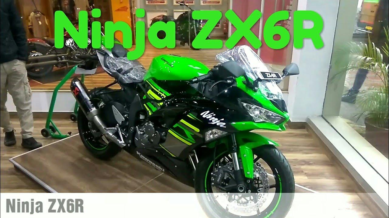 Kawaskai Ninja ZX6R - Ninja 1000 - Z900 | ZX6R with Akrapovic Exhaust