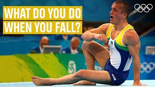 THIS is how t๐ recover from a fall! Ft. Diego Hypolito