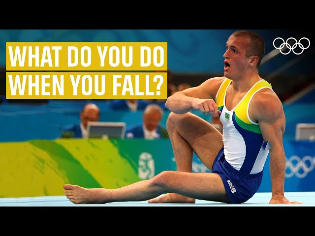 THIS is how to recover from a fall! Ft. Diego Hypolito