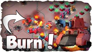 Wir brennen alles nieder! | BOOM BEACH | Nur Abfackler Fun Operation (Deutsch / German)