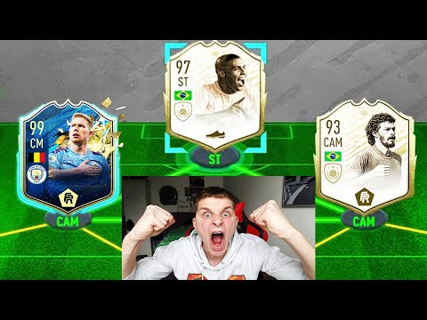 ICON SOCRATES In 194 Rated Team Of The Season Fut Draft Challenge! - Fifa 20 Ultimate Team
