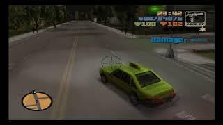 Grand Theft Auto 3 PS2 Mission #55 Escort Service