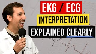 EKG/ECG Interpretation Explained Clearly - Foundation & Basics
