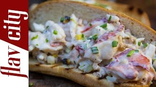 Grilled Lobster Roll - Quick & Easy Lobster Recipe