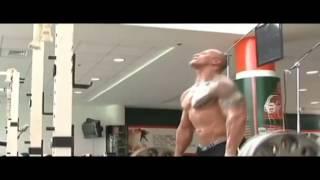 WWE The Rock Training Video