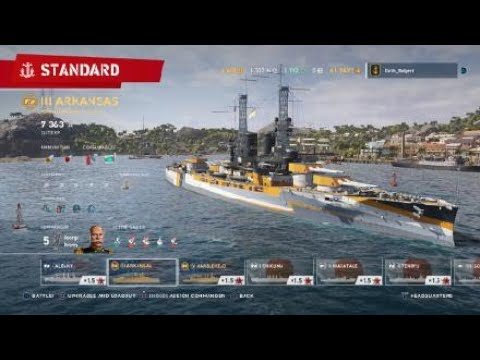 World of Warships: Legends PS4 US Premium ships at launch