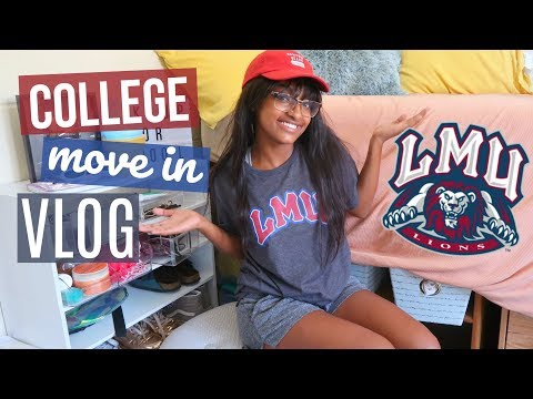 COLLEGE MOVE IN VLOG | LOYOLA MARYMOUNT UNIVERSITY