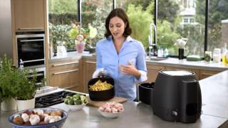 Great tasting fried food with up to 80% less fat*! Airfryer's uniqu...