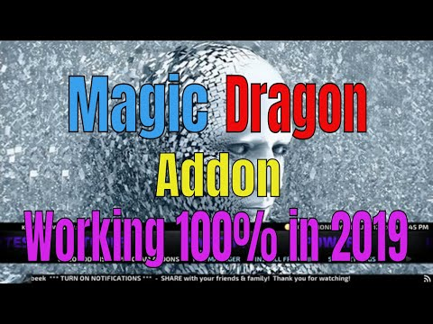How to Install Magic Dragon addon on Kodi in August 2019 100% Working