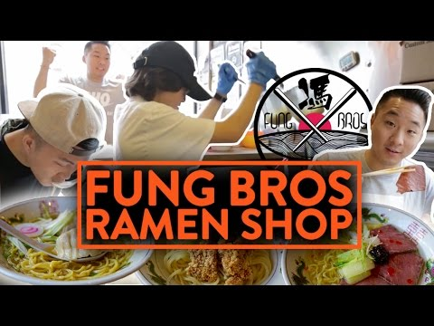 OUR CRAZY FUSION RAMEN RESTAURANT IN NEW YORK!
