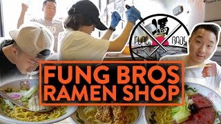 OUR OWN FUSION RAMEN RESTAURANT POP-UP IN NEW YORK!