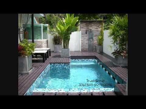 Trust Pools حمامات سباحة ديكور Youtube