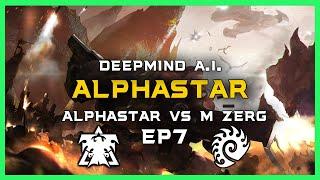 AlphaStar vs Master Zerg Ep7 [TvZ] Deepmind A.I. Starcraft 2