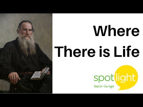 """""""Where There is Life"""" - practice English with Spotlight"""