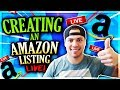 How To CREATE The PERFECT Amazon Product Listing In 2018 (Step By Step Tutorial)