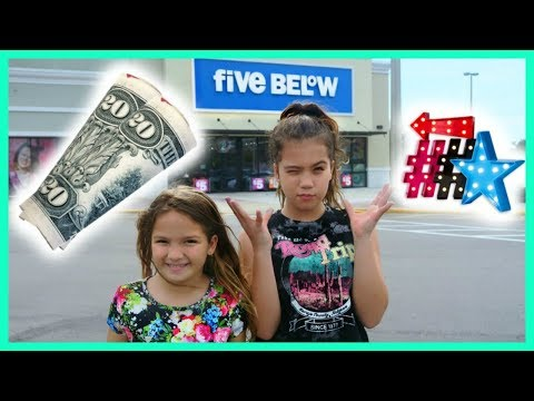 """$20 DOLLAR FIVE BELOW SHOPPING 🛒 CHALLENGE """"SISTER FOREVER"""""""