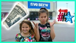 "$20 DOLLAR FIVE BELOW SHOPPING 🛒 CHALLENGE ""SISTER FOREVER"""