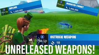 Get 4 UNRELEASED WEAPONS/AMMO TYPES By Using THIS Season X Glitch in Fortnite!