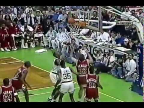 1991 Boston Celtics vs Chicago Bulls