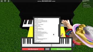 "How to Play [ROBLOX Piano] CaptainSparklez Ft. TryHardNinja - ""Revenge"" [EASY] [FULL]"