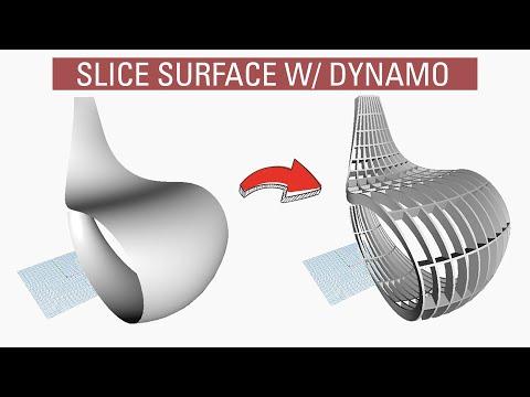 Slicing surfaces with Dynamo BIM