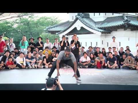 Franqey(FRA) Judge Move | SAMURAI WORLD FINAL 2017.07.02 | Red Bull BC One Camp Japan 2017