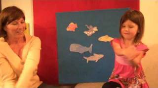 A Slippery Fish Felt Board Story ~ Children's Music, Songs and Nursery Rhymes