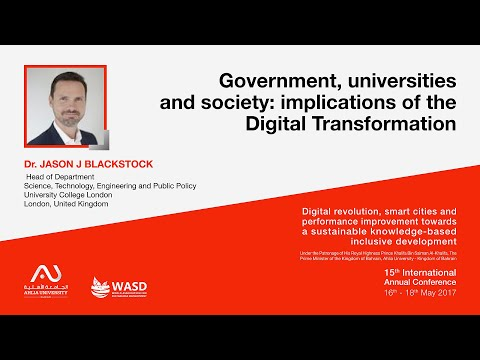 Government, universities and society: implications of the Digital Transformation