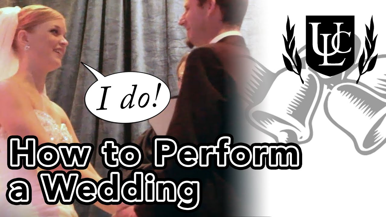 How To Perform A Wedding Ceremony In 4 Simple Steps
