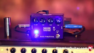 Review Demo - MXR Custom Shop Sub Machine Octave Fuzz