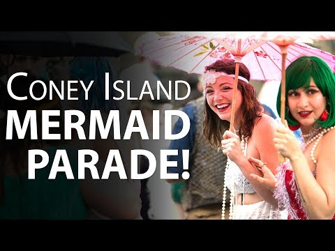 Coney Island Mermaid Parade 2017 -- Pictures!