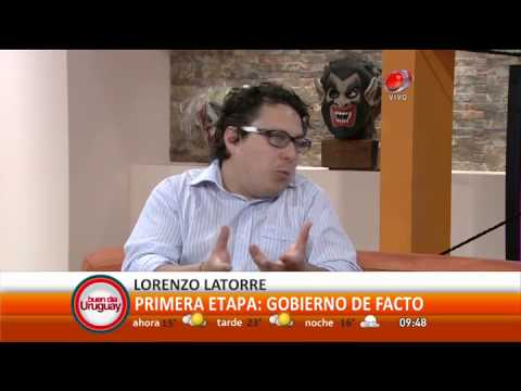 Leo Borges habla de Lorenzo Latorre parte 1(31-octubre-2014).