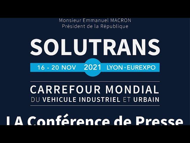 LA conférence de Presse SOLUTRANS 2021