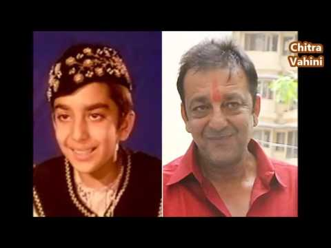 Sanjay Dutt Childhood Rare and Unseen - YouTube