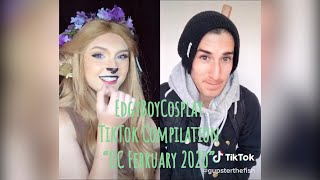 "EdgyBoyCosplay - TikTok Compilation ""OC February 2020"""