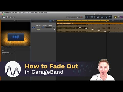 How to Fade Out in GarageBand