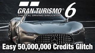 Gran Turismo 6 - Easy 50,000,000 Credits GLITCH