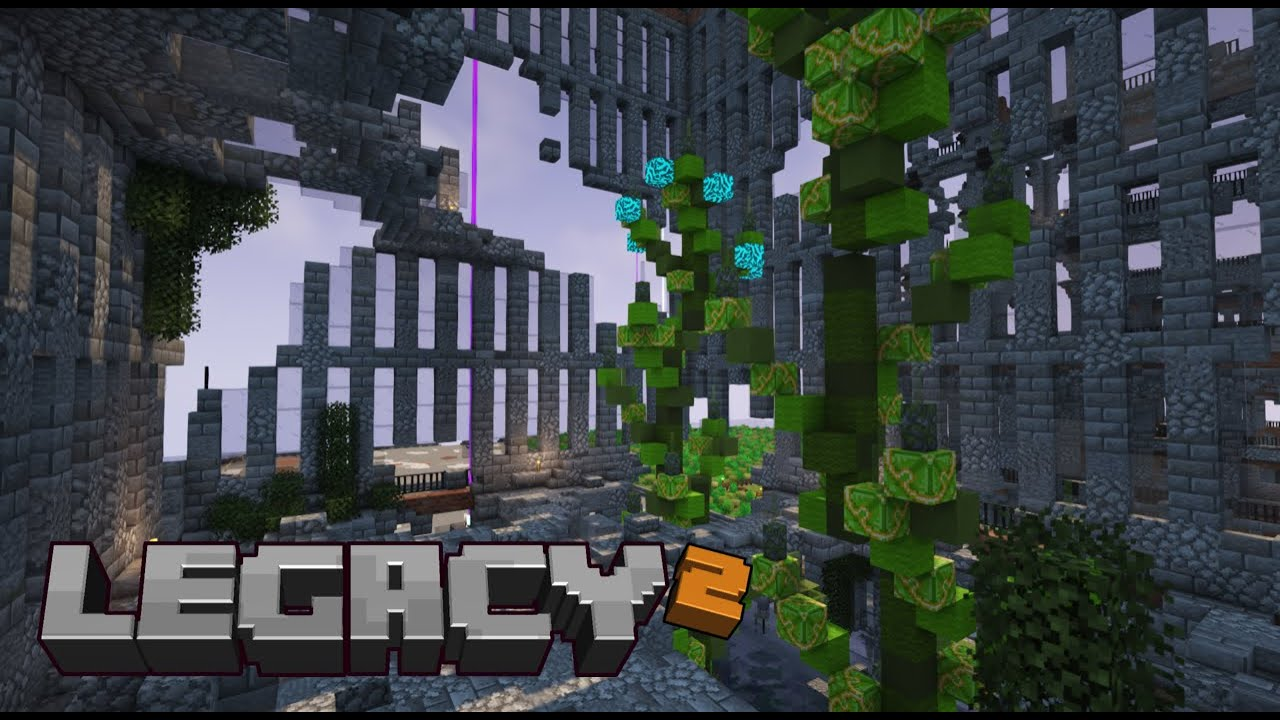 Legacy SMP Season 2: Episode 22 Five blocks placed..!?
