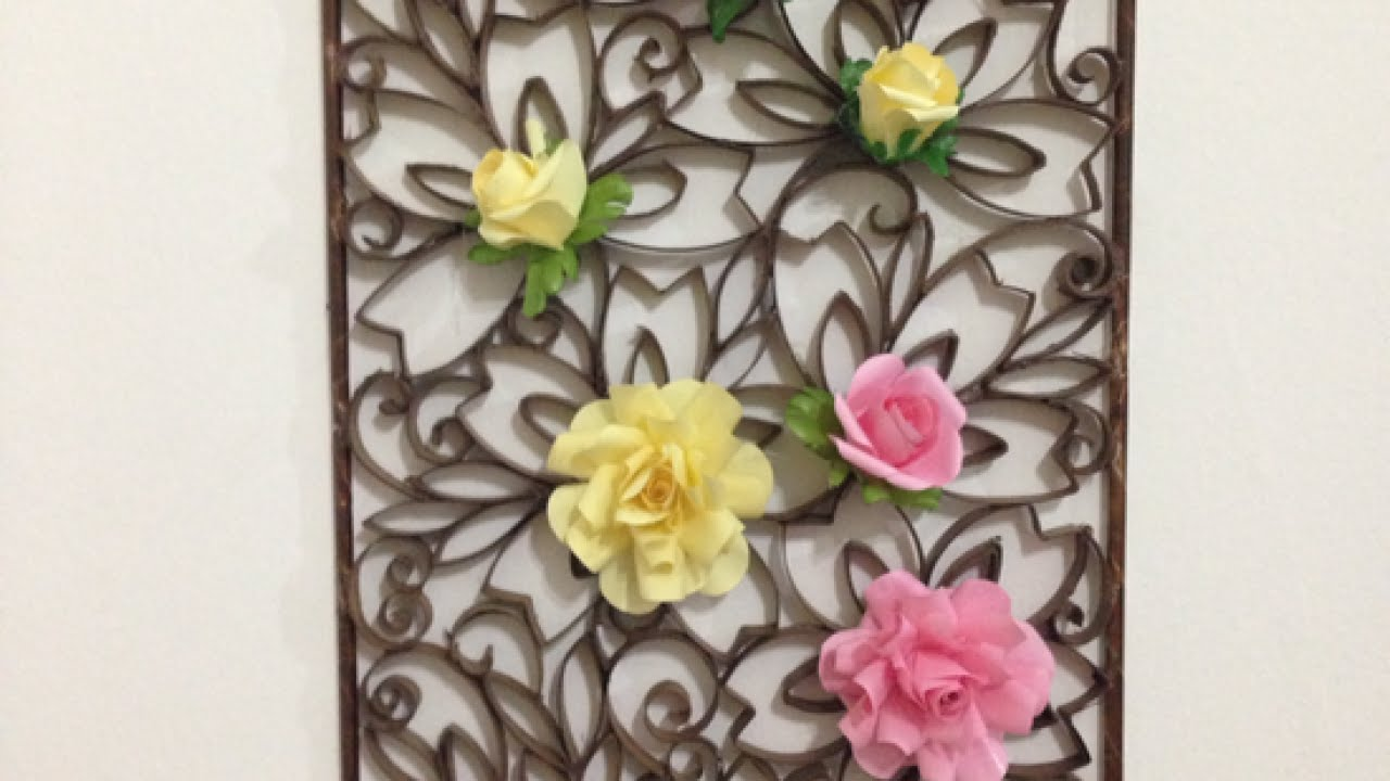 How To Make A Beautiful Paper Wall Decoration   DIY Home Tutorial    Guidecentral