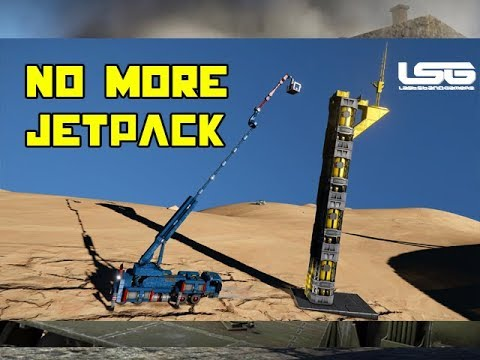 Gyro Stabilized Boom Lift Crane - Space Engineers