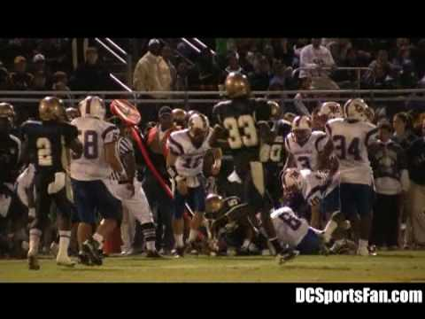 WCAC, DCIAA, IAC & MAC 2008 High School Football Highlights