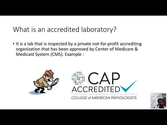 International Laboratory Week/Quality Seminar 7 April 2021: Session 2