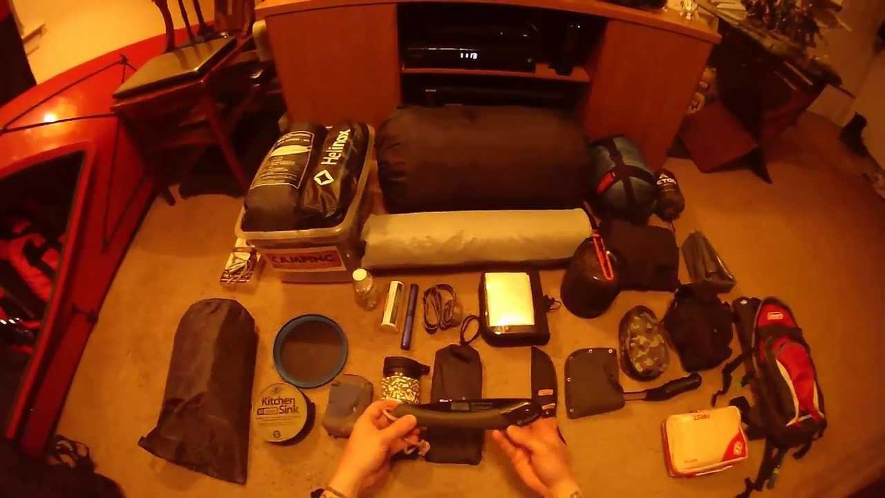 Winter Hammock Camping Gear List