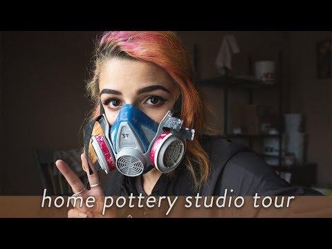 Home Pottery Studio Tour
