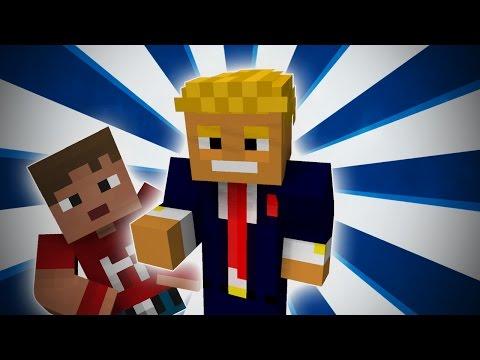 Dansk Minecraft: DE BYGGER EN MUR!